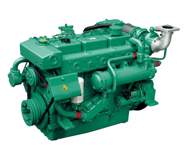 Doosan L086TI Heavy Duty Marine Diesel Propulsion Engine, Turbocharged and Intercooled Marine Engine.