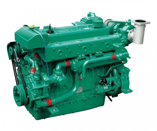 Doosan L126TI Heavy Duty Marine Diesel Propulsion Engine, Turbocharged and Intercooled Marine Engine.