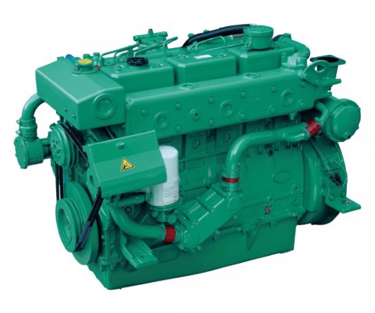 Doosan L136T Heavy Duty Marine Diesel Propulsion Engine, Turbocharged Engine.