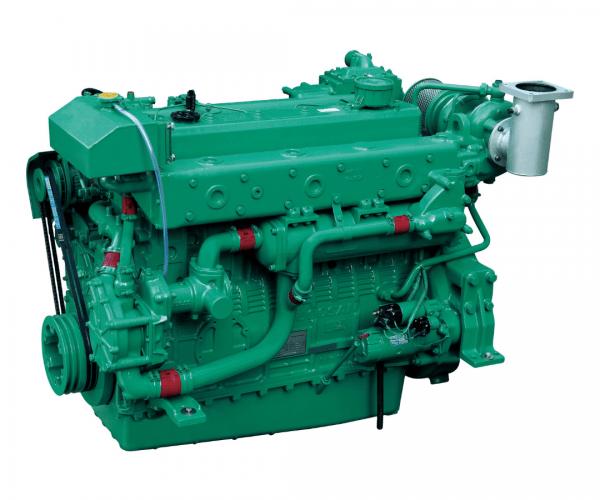 Doosan MD196TI Heavy Duty Marine Diesel Propulsion Engine, Turbocharged and Intercooled Marine Engine.