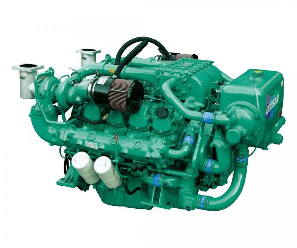 Doosan V158TI Heavy Duty Marine Diesel Propulsion Engine, Turbocharged and Intercooled marine Engine.